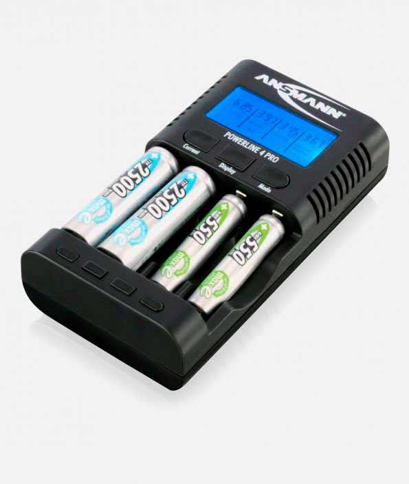 Ansmann 1001-0005 Зарядное устройство PowerLine 4 Pro