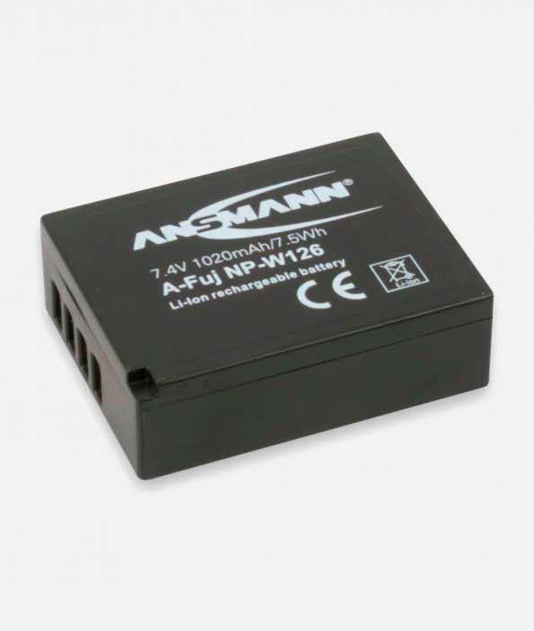 Ansmann 1400-0029 Аккумулятор LiPho 3.7V A-Fuj NP W 126